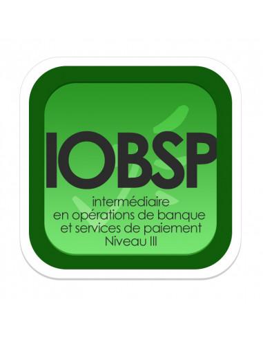 Intermédiaire en Opérations de Banque et Services de Paiement - Niveau III (Livret de formation ORIAS)