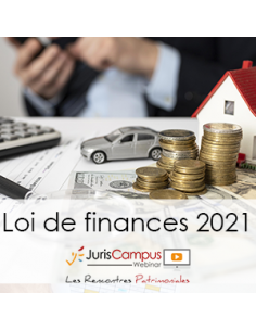 Loi de finances 2021 : Webinar d'information