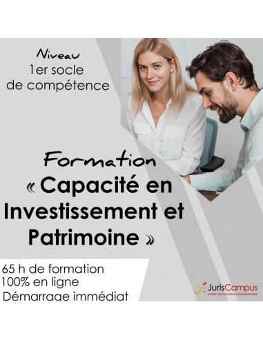 Capacité en Investissement et Patrimoine