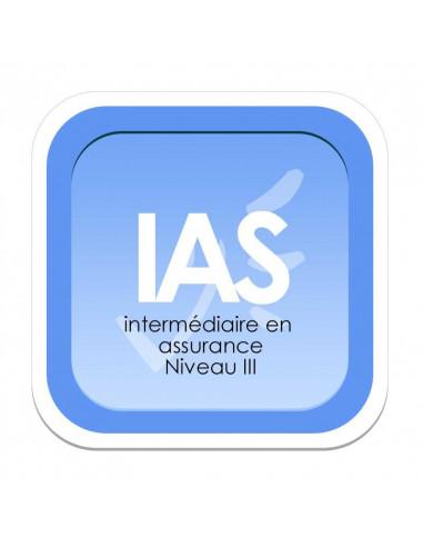 Intermédiaire en Assurance - Niveau III (Livret de formation ORIAS)